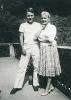 Marie Haasová a syn Ivan
