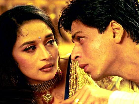 Madhuri Dixit a Shahrukh Khan