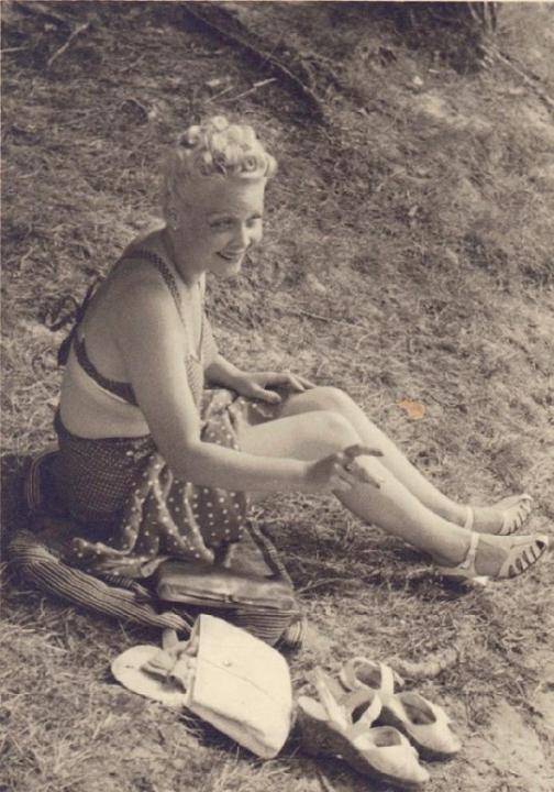 Foto: Kniha Já jedu dopředu, jak nejlíp dovedu, cca 1946