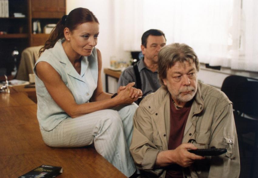 Vilma Cibulková, Václav Postránecký a Jan Kanyza