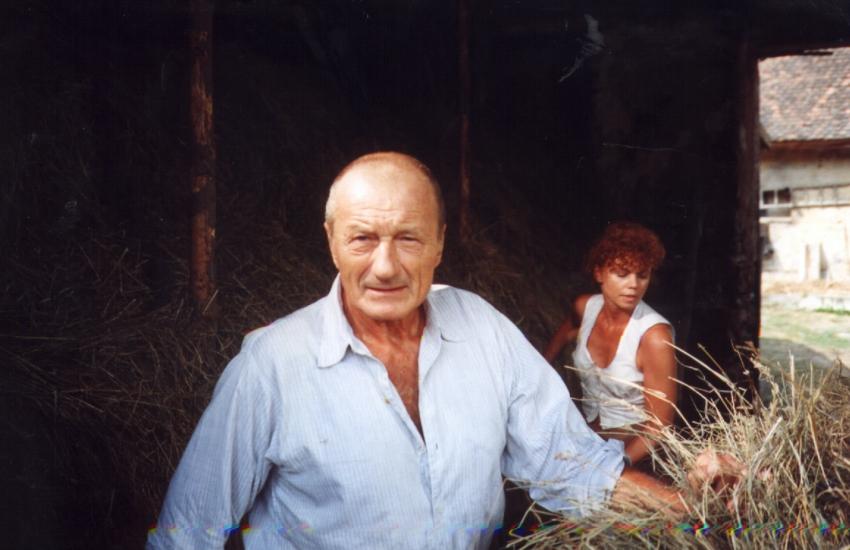 Radoslav Brzobohatý a Jana Janěková v epizodě Bouřka