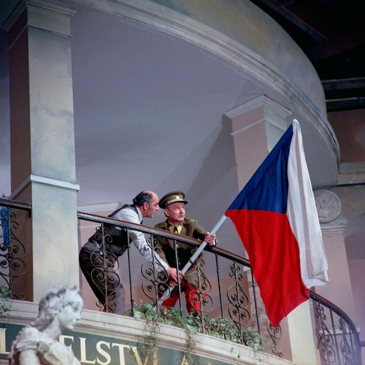 Josef Bláha a Vladimír Ráž