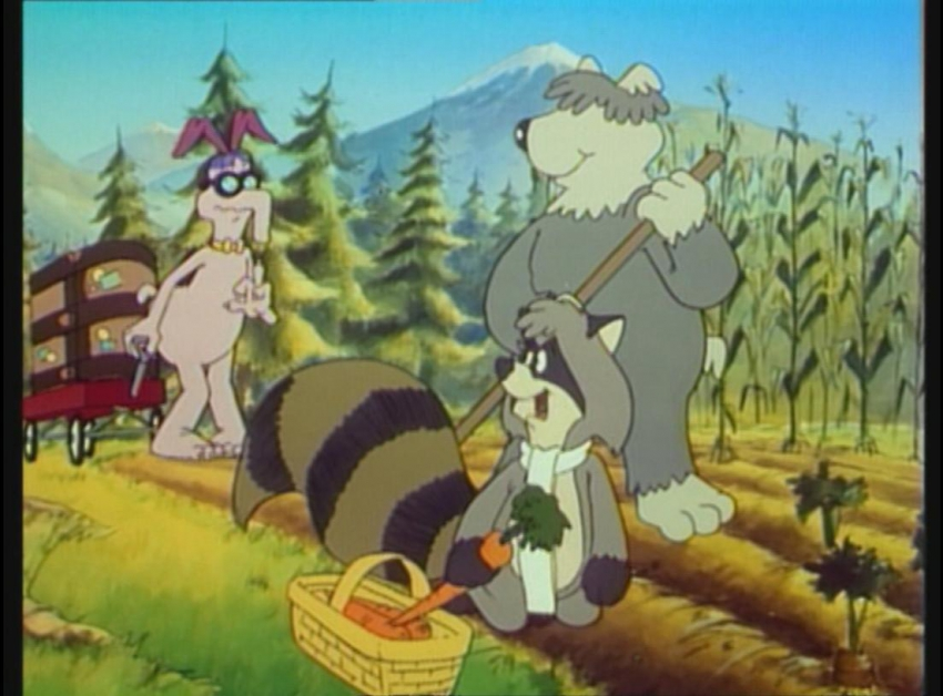 Medvídci mývalové (1985) [TV seriál]