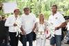 křest trojčat bílých tygrů s hokejistou Petrem Nedvědem, oštěpařkou Barborou Špotákovou a humoristou Petrem Urbanem