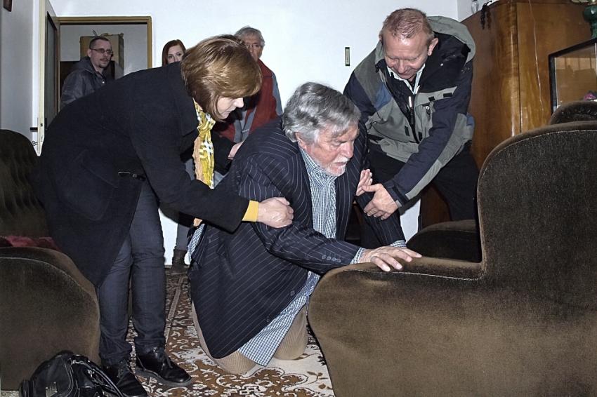Ivana Andrlová, Jan Kačer a Miroslav Vladyka