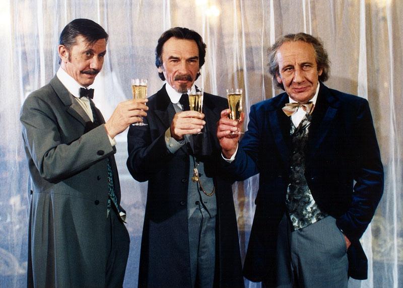 Boris Rösner, František Němec a Miroslav Moravec