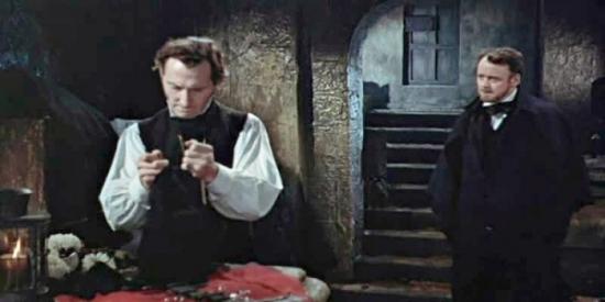 Frankensteinova kletba (1957)