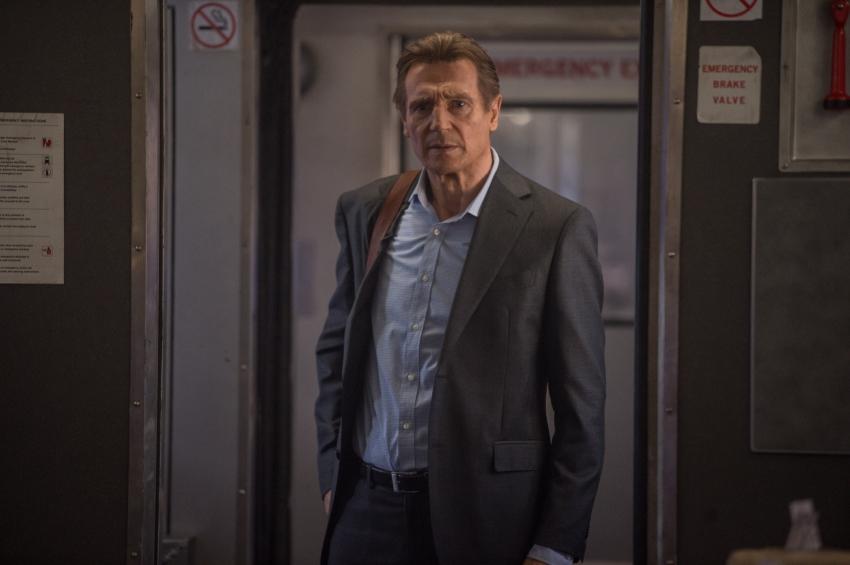 Cizinec ve vlaku (2018)