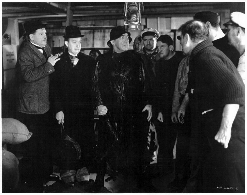 Strašidelná loď (1934)
