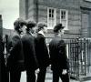 George Harrison, Paul McCartney, John Lennon a Ringo Starr