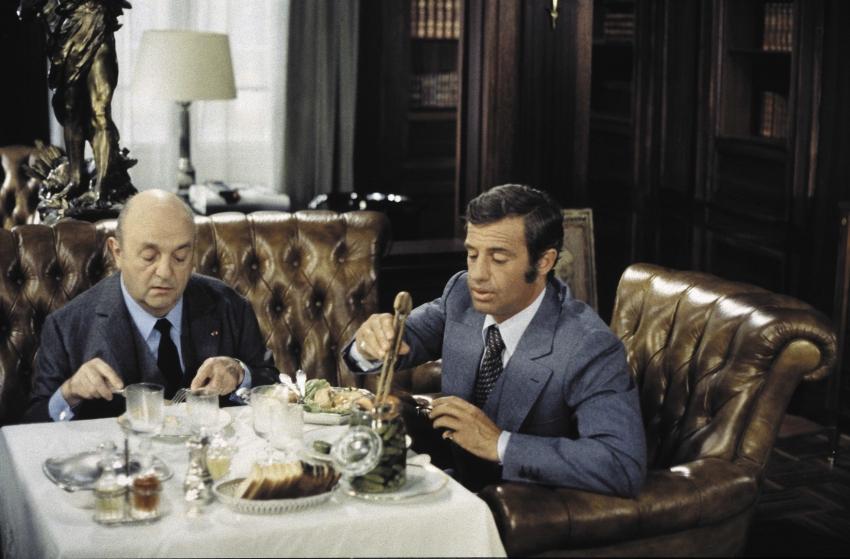 Bernard Blier a Jean-Paul Belmondo