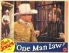 One Man Law (1932)
