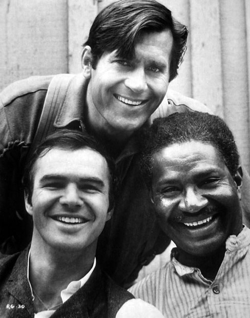 Clint Walker Burt Reynolds Ossie Davis