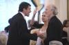 Antonio Banderas a Alan Rudolph s manželkou (2009)