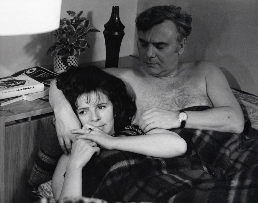 Jiřina Švorcová a Petr Haničinec