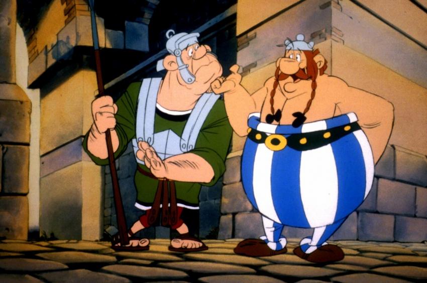 Asterix a překvapení pro Caesara (1985)