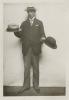 """Fotografie z div. představení """"Rozkošná příhoda"""" - 17.04.1914, Rudolf Deyl (Valentin Le Barroyer)"""