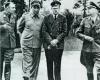 Martin Bormann, Hermann Göring, Adolf Hitler a Heinrich Himmler