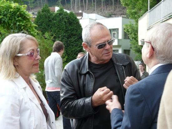 Milan Kňažko s manželkou v rozhovoru s Petrem Weiglem