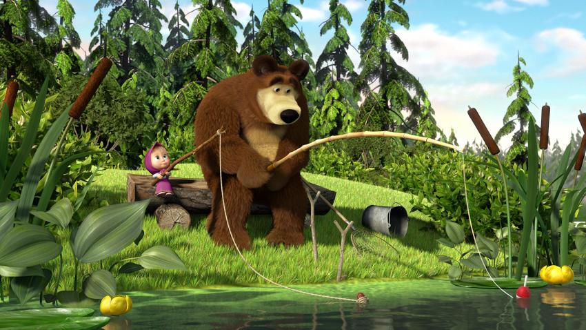Máša a medvěd: Mášiny písničky (2020)
