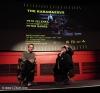 """Britský filmový kritik Peter Hames a režisér Petr Zelenka na londýnské premiéře filmu """"Bratři Karamazovi"""" konané 7.11.2009."""