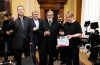 kreativní producent Jan Lekeš, manažer realizace Jaroslav Kučera, ředitel programu Milan Fridrich, Jiří Bartoška jako Mattoni a režisér Marek Najbrt