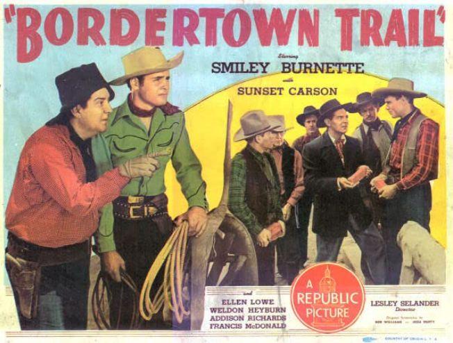 Bordertown Trail (1944)