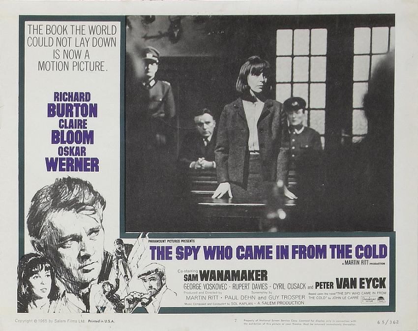 Špion, který přišel z chladu (1965)