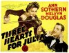 Three Hearts for Julia (1943)