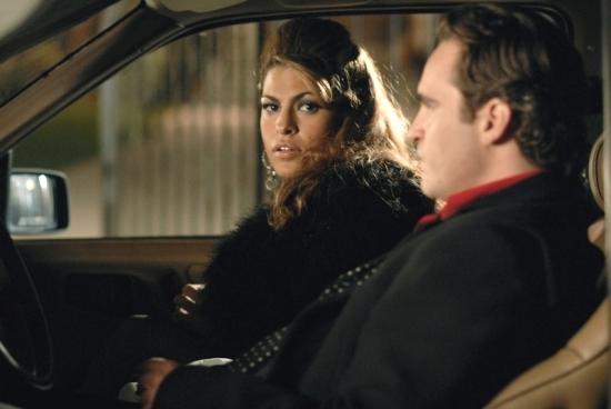 Joaquin Phoenix a  Eva Mendes