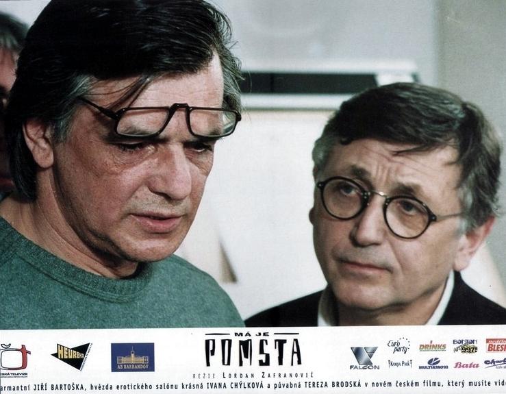Jiří Bartoška a Jiří Menzel