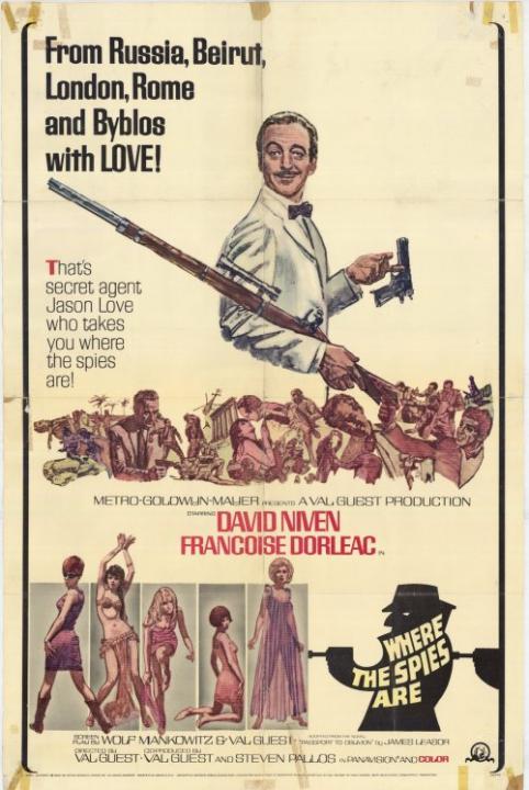Tam, kde jsou špióni (1965)