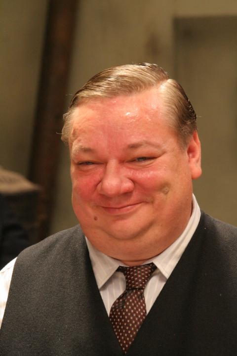Lidická svatba Jaruš a Fialy - starosta:  Norbert Lichý