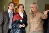 Katarina Kolajova a Přemek Boublik s režisekou Yvonne Vavrovou Přemysl Boublík Katarína Kolajová Yvonne Vavrová