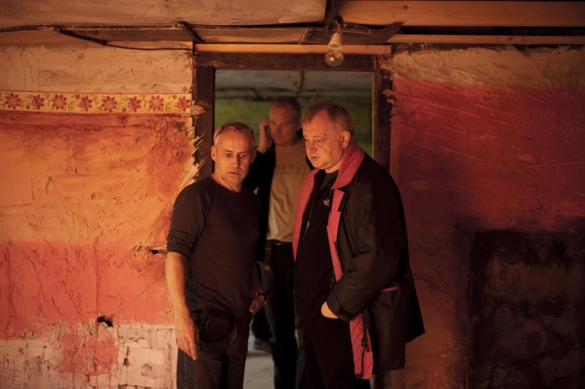 z natáčení: František Lipták,  Martin Šec a Martin Šulík