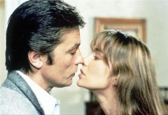 Alain Delon a  Anne Parillaud