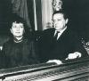 Bibi Haasová s Hugo Haasem v USA