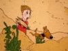 Čaroděj z nafukovacího stromu: Pískové kouzlo