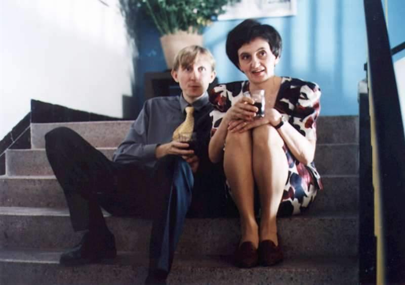 Vladimír Javorský, Eva Holubová