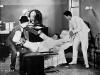 Stan Laurel, Oliver Hardy a Billy Gilbert Estelle Etterre