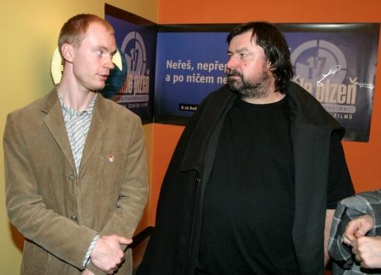 Jan Budař a Čestmír Kopecký na Finále Plzeň 2005