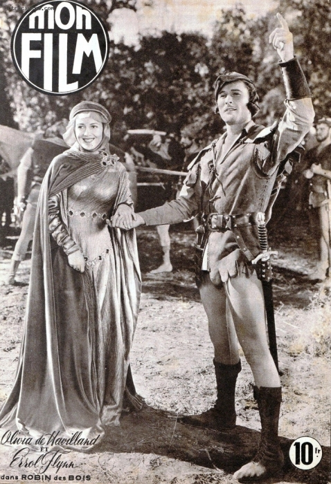 Errol Flynn Olivia de Havilland