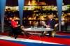 Rozhovor s prezidentem republiky Václavem Klausem v přímém přenosu v rámci speciálu Televizních novin.