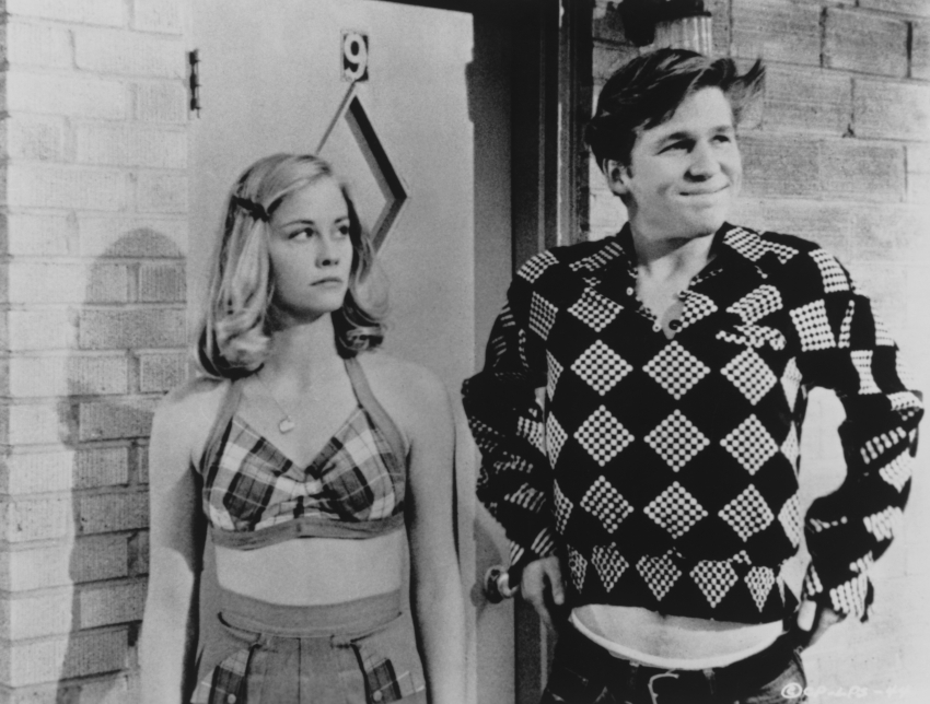 Cybill Shepherd a Jeff Bridges