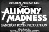 Alimony Madness (1933)