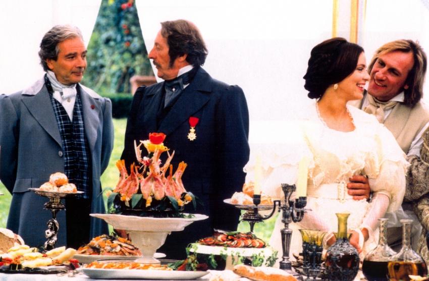 Jean Rochefort a Gérard Depardieu