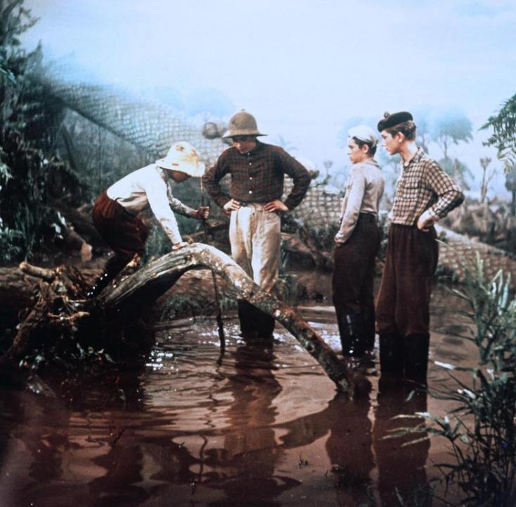 Cesta do pravěku (1955)