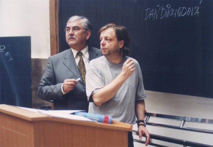 Miroslav Donutil a Milan Šteindler