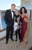"Albert Fortell, Rosamunde Pilcher a Barbara Wussow - ""Die Goldene Deutschland"" 12.5.2013, Hamburk, Německo / Zdroj: Christian Augustin/Getty Images Europe"