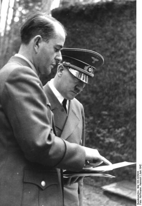Albert Speer a Adolf Hitler